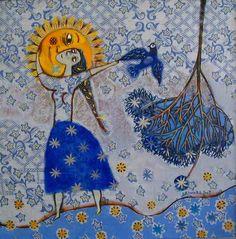 **My Sun.  Anna Silivonchik.