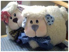 almofada ovelha filhotes