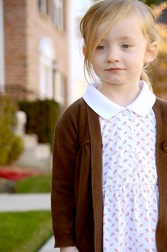 Turn that grandma's polo into an adorable dress! A fairly easy sewing project, actually. Tutorial is nice.