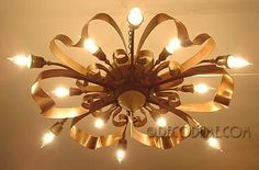 french ceiling lights | 1940's French Moderne Ceiling Light - Whimsical | Lovely Light