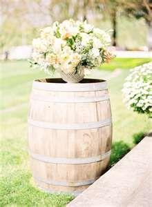 I like these wine barrels