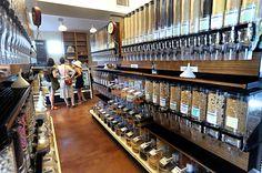Mercearia inova ao vender produto naturais e orgânicos sem embalagens