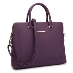 Shop for Dasein Front Stitching Women's Shoulder Briefcase. Free Shipping on orders over $45 at Overstock.com - Your Online Business Cases Outlet Store! Get 5% in rewards with Club O!