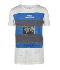 Titan Cut Collar T-shirt, Men, T-shirts, AllSaints Spitalfields