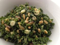 Kale Salad with Creamy Avocado Tahini Dressing