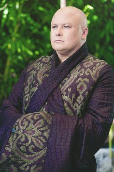 Conleth Hill as Lord Varys, The Spider. Thanks to his performance, I sort of love Varys even though I know I shouldn't.