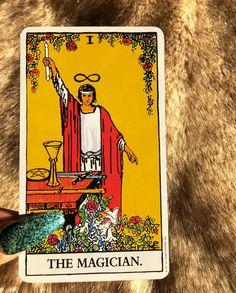 The Magician Tarot, Tarot Cards, The Magicians, Meditation, Tarot Card Decks, Tarot, Tarot Spreads, Zen