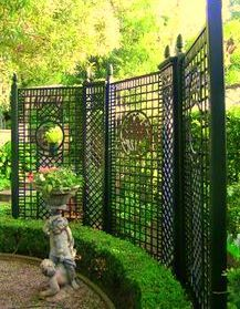Charmant Trellis Designs Within French Formal Garden Inspirations ELIOT RAFFIT    ROMANTISME Architect, Artist U0026 Designer