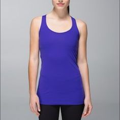 Lululemon Cool Racerback size 8 Lululemon cool Racerback. Literally used once looks brand new. Gorgeous royal blue color lululemon athletica Tops Tank Tops