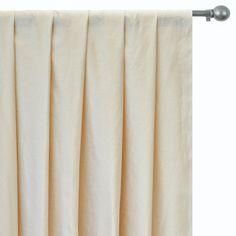 Faux Silk Curtains, Custom Curtains, Silk Fabric, Drapery Panels, Panel Curtains, Types Of Window Treatments, Blue Cushion Covers, Blue Bedding, Box Pleats