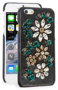 Dolce&Gabbana 'Daisy' iPhone 6 & 6s Case available at #Nordstrom