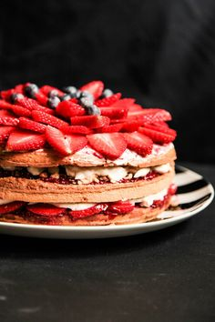 Berry Layer Cake wit