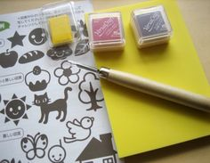 Would Love To Learn Rubber Stamp Carving Crafting Tools