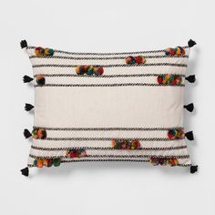 Find product information, ratings and reviews for Pom-Pom Lumbar Pillow - Opalhouse™ online on Target.com.
