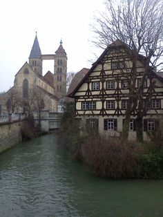 Esslingen, Germany Continents, View Photos, Cathedral, Germany, Europe, Spaces, Building, Travel, Cultural Diversity