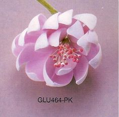Edible Gum Paste Flowers I to Z