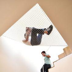 227 flat stair hammock