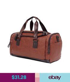 Backpacks, Bags  amp  Briefcases Large Men Leather Travel Gym Bag Luggage  Handbag Duffle Shoulder ec89b58923