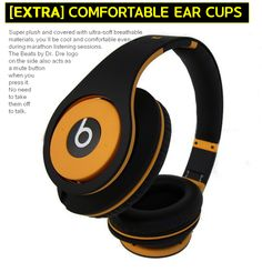 Original Beats by Dr. Dre Studio [BLACK & YELLOW].
