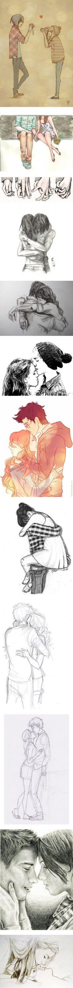 L'amour en dessins