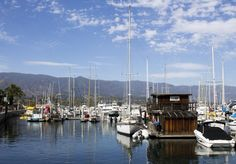 Santa Barbara Harbor, photo by Alexandra Williams