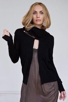 NFP  lightweight wrap neck cardigan  http://nfpstudio.com/shop/nit/sweaters/n11-lightweight-wrap-neck-cardigan/
