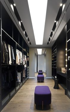 Get to know the best of luxury closet design in a selection curated by Boca do Lobo to inspire interior designers looking to finish their projects. Discover unique walk-in closet setups by the best furniture makers out there