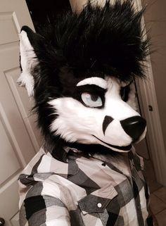 Fursuit Selfie - by Kita