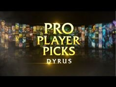 Pro Player Pick: Team Solomid's Dyrus. One of the best.