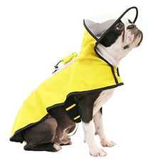 Gooby Dog Rain Coat with Functional Adjustable Rain Cap *** See this great product. (This is an affiliate link) Rain Cap, Dog Accesories, Dog Raincoat, Designer Dog Clothes, Puppy Clothes, Dog Coats, Dog Supplies, Dog Design, Pet Toys