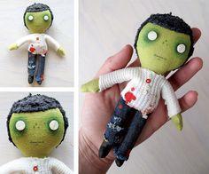pocket zombie by charlotte & stewart, via Flickr