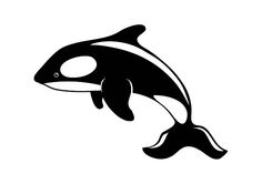 Killer Whale Orca Die Cut Vinyl Decal Pv102 For Windows