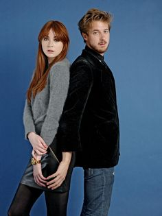 Karen Gillan and Arthur Darvill Guardian photoshoot
