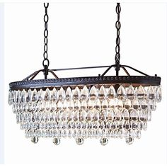 Allen  Roth 4light Oilrubbed Bronze Crystal Chandelier Hardwired Home Kitchen Bedroom Bathroom Dining Room Lighting * You can get additional details at the image link. (Note:Amazon affiliate link)