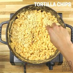 Chips and Queso meet Mac and Cheese! So easy and perfect! top #food vegans, #food desert, food near me open now, tasty food videos, food 32822, food poisoning scene, food truck handbook, food as medicine jerry brunetti, dog food advisor ratings fromm, food boxes fairbanks, food bazaar elizabeth, mesh food covers for outdoors, best food dehydrator machines, food evolution trailer, food for less weekly ad el cajon, food giant tallahassee. Cheesy Recipes, Dog Food Recipes, Snack Recipes, Dinner Recipes, Cooking Recipes, Snacks, Rice Recipes, Pasta Facil, Food Cravings