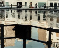 Peter Cornelius - Canal St Martin, Paris (1958)