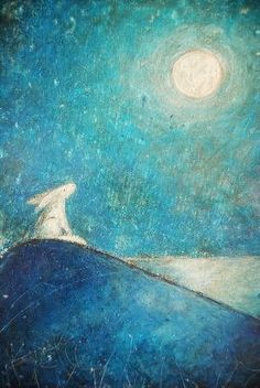 A lovely dreamy picture that makes me go all fuzzy when I look at it! By Julia Crossland.
