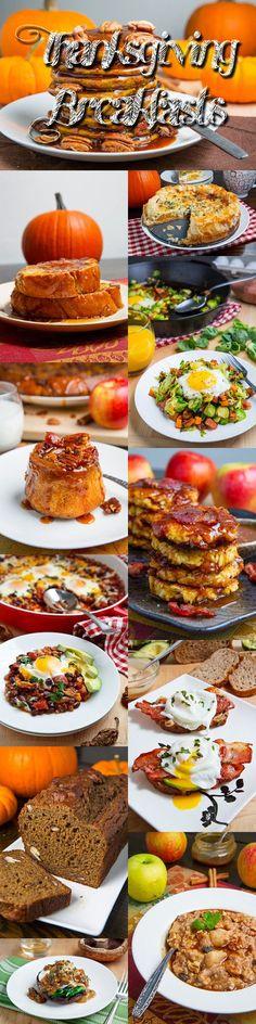 Thanksgiving Breakfast Recipes