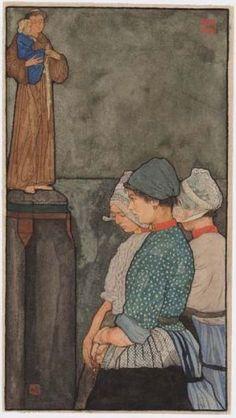 Volendam, Nico Jungman c. 1900, Nederlands Openluchtmuseum Arnhem