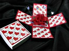11 Best Valentine S Day Ideas Images On Pinterest Explosion Box