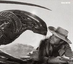 U don't have 2 worry, Kid I ain't going 2 kill U. UR the only friend I got. #Aliens #ClintEastwood #LetsGetWordy