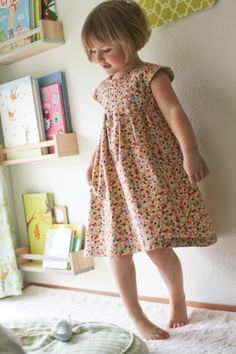 Another example of the adorable Geranium Dress from Made by Rae