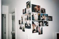 Aquela sua parede anda meio sem graça? Junte as melhores e maiores fotos, e transforme num cantinho foto e cheio de estilo!