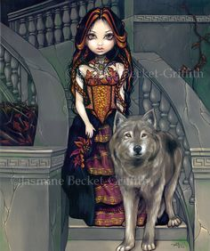 Wolf Countess - Strangeling: The Art of Jasmine Becket-Griffith