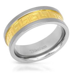 Ring Gold Plated Titanium -Size 12 Size Superb gentlemens band ring well made of gold plated titanium. Band Rings, Gentleman, Size 12, Wedding Rings, Internet, Engagement Rings, Amazing, Check, Gold