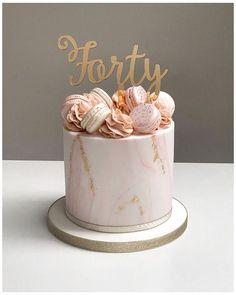 40th Birthday Cake For Women, Birthday Cake For Women Elegant, Birthday Cake Roses, 14th Birthday Cakes, Sweet 16 Birthday Cake, Elegant Birthday Cakes, Beautiful Birthday Cakes, Beautiful Cakes, 21st Birthday
