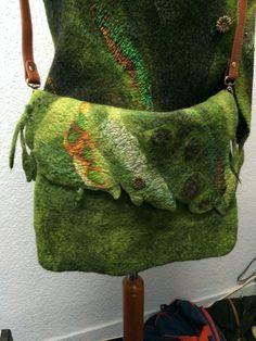Taschen - Filztasche - ein Designerstück von 111sumsum bei DaWanda