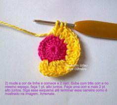 Hiboux colorés , pas à pas en images ! Crochet Turtle, Bazaar Crafts, Baby Dress, Lana, Cross Stitch Patterns, Diy And Crafts, Crochet Earrings, Handmade, Coaster