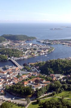 Mandal, Norway. Hometown for many years. Summertime!