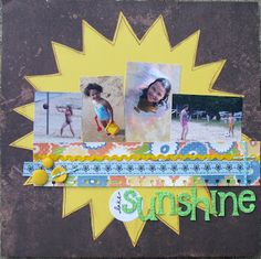 """Lake Sunshine"" for Scrap It With a Song"